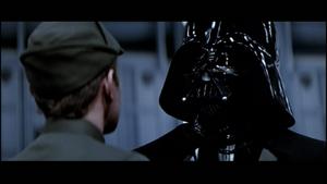 Vader displeased