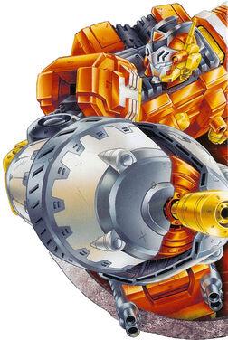 Giant Autobot Quickmix