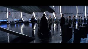 Vader leaving