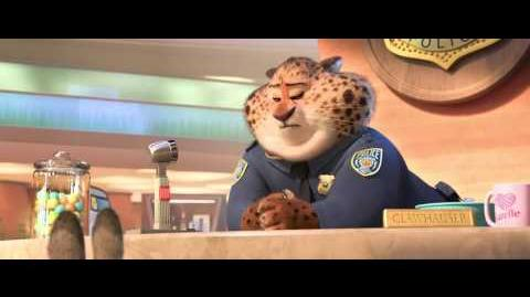 "ZOOTOPIA - ""Meet Clawhauser"" Clip"