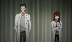 Okabe and Kurisu 2