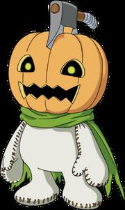 Pumpkinmon Render