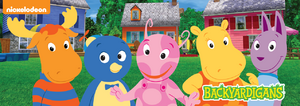 The Backyardigans 2D Characters Cast Uniqua Pablo Tyrone Tasha Austin Image
