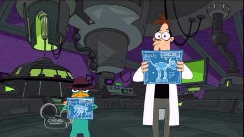 Con Los Planos - Phineas y Ferb HD