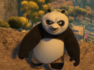 Po facing Tai Lung
