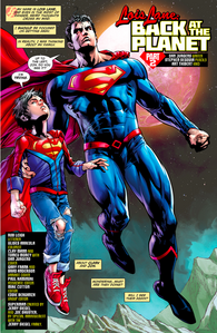 Superboy-beats-superman-in-a-race-rebirth-1