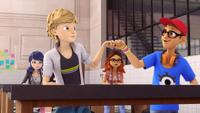 The Evillustrator - Marinette, Adrien, Alya and Nino 00