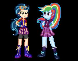 Wondercolt indigo zap and shadowbolt rainbow dash by mixiepie-d9nftrs