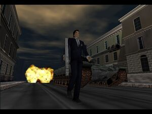 Bond in GoldenEye 007 64