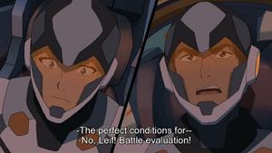 No, Leif! Battle evacuation!
