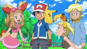 PKMXYEP21 - Serena Advising Ash to Take Break