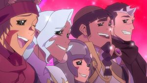 VLD - Lance, Allura, Pidge, Hunk and Shiro