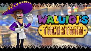 Waluigi's Taco Stand poster