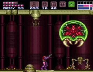 6418-468x-Super Metroid - Metroid Fight