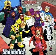 Substitute Squaddies (Earth-11911) from Super Hero Squad Spectacular Vol 1 1