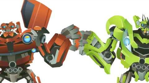 TWINS(SKids & Mudflap) Transform - Short Flash Transformers Series