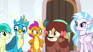 Young Six smiling at each other S8E15