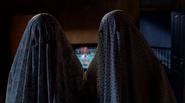 Bedsheet ghosts