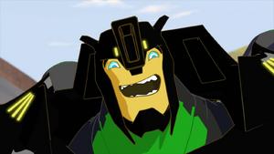 Grimlock laughs