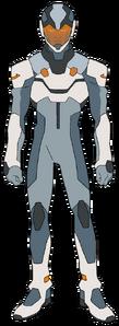Kinkade's space suit