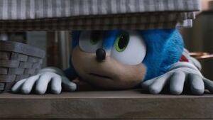 Sonic's hiding