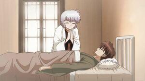 Tamako with Rokudo