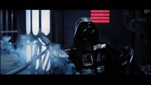 Vader severely
