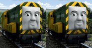 'Arry and Bert in full CGI