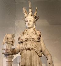 Athena, Parthenon statuette