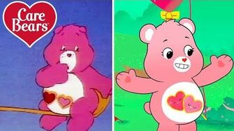 Classic Care Bears The Evolution of Love-a-Lot!