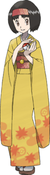 HeartGold SoulSilver Erika