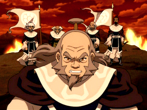 Iroh & The Members of White Lotus