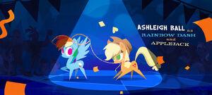 Rainbow Dash and Applejack Dancing