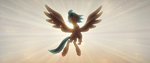 Skystar appears in her Hippogriff form MLPTM
