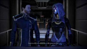 Tali and Shepard 2