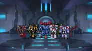 Bee Team and Optimus' All-Stars won