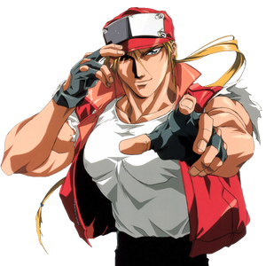 Fatal Fury - Terry Bogard as seen in Fatal Fury, The Motion Picture