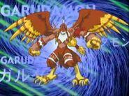 Garudamon evolve