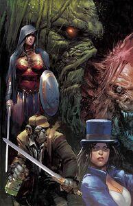 Justice League Dark Vol 2 19 Textless Variant