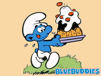 Smurfs Color Pictures Greedy Smurf
