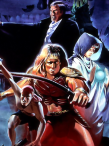 Castlevania - Trevor Belmont and his party