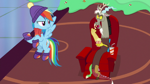 Discord eat popcorn.