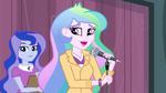 Principal Celestia mentions the Friendship Games EG3