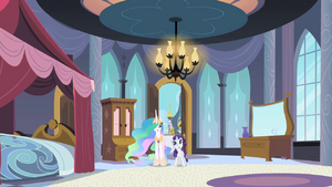 Rarity I get to stay here