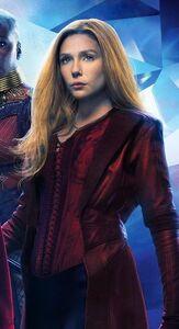 Wanda as she appears in infinity war