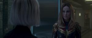 Captain Marvel meets the Avengers