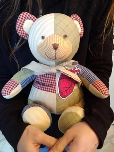 SCP-2295 Bear with Heart of Patchwork