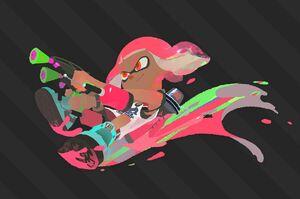 Splat2n Inkling Girl Dualies