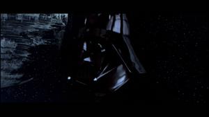 Vader going