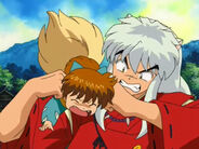 Shippou and Inuyasha